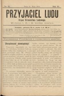 Przyjaciel Ludu : organ Stronnictwa Ludowego. 1899, nr15