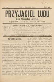 Przyjaciel Ludu : organ Stronnictwa Ludowego. 1899, nr31