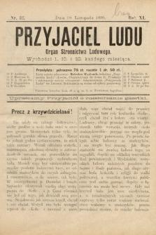 Przyjaciel Ludu : organ Stronnictwa Ludowego. 1899, nr32