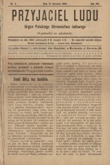 Przyjaciel Ludu : organ Polskiego Stronnictwa Ludowego. 1904, nr2