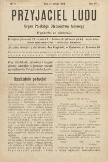 Przyjaciel Ludu : organ Polskiego Stronnictwa Ludowego. 1904, nr8