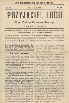 Przyjaciel Ludu : organ Polskiego Stronnictwa Ludowego. 1904, nr10