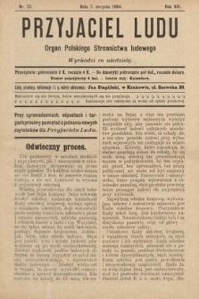 Przyjaciel Ludu : organ Polskiego Stronnictwa Ludowego. 1904, nr32