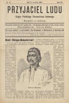 Przyjaciel Ludu : organ Polskiego Stronnictwa Ludowego. 1904, nr37