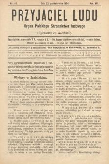 Przyjaciel Ludu : organ Polskiego Stronnictwa Ludowego. 1904, nr43