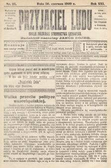 Przyjaciel Ludu : organ Polskiego Stronnictwa Ludowego. 1909, nr25