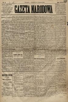 Gazeta Narodowa. 1894, nr2
