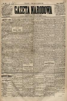 Gazeta Narodowa. 1894, nr14