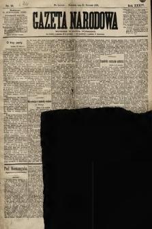 Gazeta Narodowa. 1894, nr16
