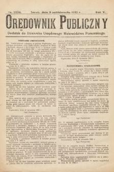 Orędownik Publiczny : dodatek do Dziennika Urzędowego Województwa Pomorskiego. 1925, nr23/24