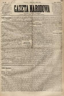 Gazeta Narodowa. 1894, nr61