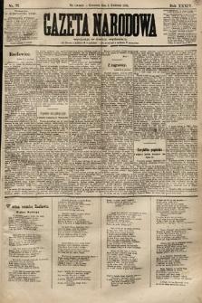 Gazeta Narodowa. 1894, nr77