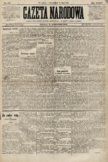 Gazeta Narodowa. 1894, nr163