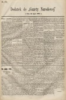 Gazeta Narodowa. 1894, nr174