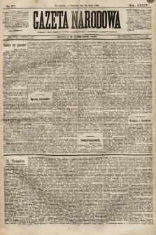 Gazeta Narodowa. 1894, nr177