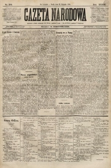 Gazeta Narodowa. 1894, nr204