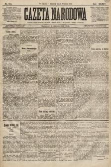 Gazeta Narodowa. 1894, nr215