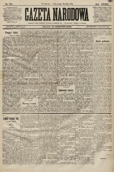 Gazeta Narodowa. 1894, nr218
