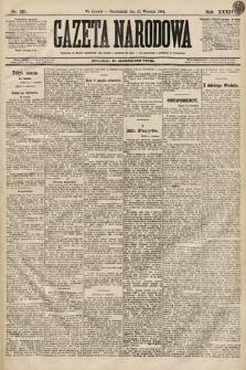 Gazeta Narodowa. 1894, nr223
