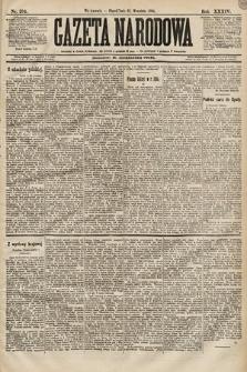 Gazeta Narodowa. 1894, nr234
