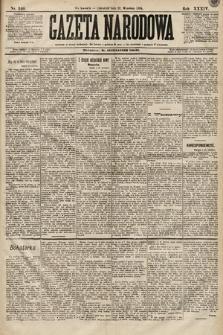 Gazeta Narodowa. 1894, nr240