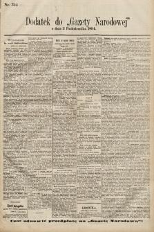Gazeta Narodowa. 1894, nr244