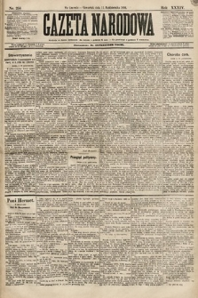 Gazeta Narodowa. 1894, nr254