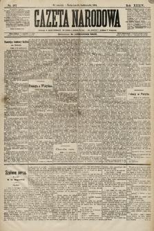 Gazeta Narodowa. 1894, nr267