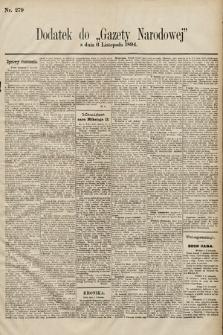 Gazeta Narodowa. 1894, nr279