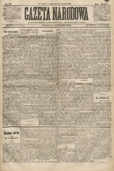 Gazeta Narodowa. 1894, nr297
