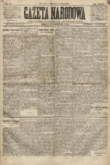 Gazeta Narodowa. 1894, nr316