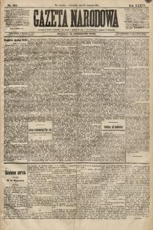 Gazeta Narodowa. 1894, nr324