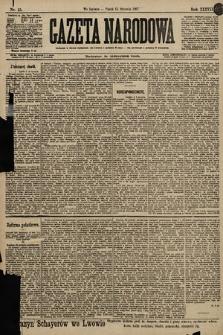 Gazeta Narodowa. 1897, nr15
