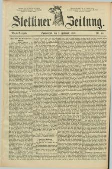 Stettiner Zeitung. 1889, Nr. 56 (2 Ferbuar) - Abend-Ausgabe