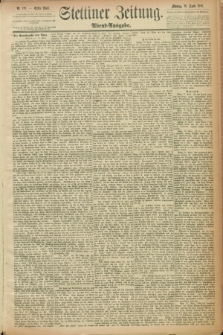 Stettiner Zeitung. 1889, Nr. 191 (29 April) - Abend-Ausgabe