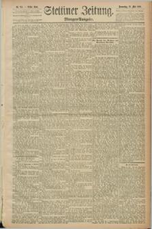 Stettiner Zeitung. 1889, Nr. 215 (23 Mai) - Morgen-Ausgabe