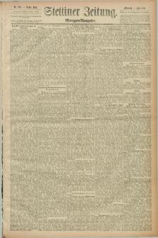 Stettiner Zeitung. 1889, Nr. 228 (5 Juni) - Morgen-Ausgabe