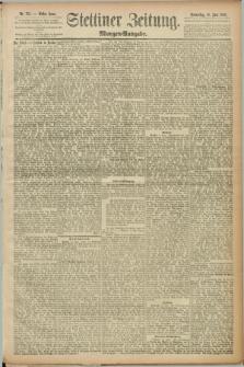 Stettiner Zeitung. 1889, Nr. 235 (13 Juni) - Morgen-Ausgabe