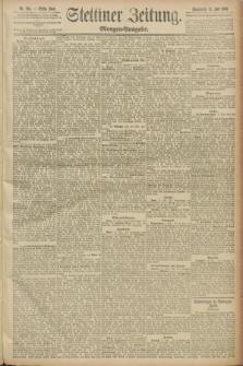 Stettiner Zeitung. 1889, Nr. 265 (13 Juli) - Morgen-Ausgabe