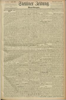 Stettiner Zeitung. 1889, Nr. 265 (13 Juli) - Abend-Ausgabe