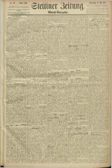 Stettiner Zeitung. 1889, Nr. 270 (18 Juli) - Abend-Ausgabe