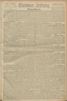 Stettiner Zeitung. 1889, Nr. 272 (20 Juli) - Morgen-Ausgabe