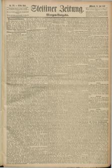 Stettiner Zeitung. 1889, Nr. 276 (24 Juli) - Morgen-Ausgabe