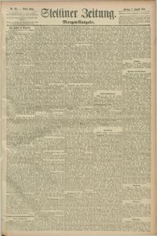 Stettiner Zeitung. 1889, Nr. 285 (2 August) - Morgen-Ausgabe