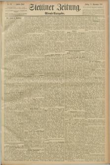 Stettiner Zeitung. 1889, Nr. 327 (13 September) - Abend-Ausgabe