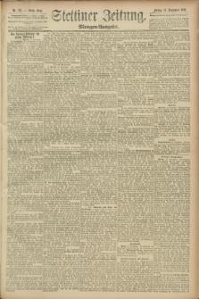 Stettiner Zeitung. 1889, Nr. 327 (13 September) - Morgen-Ausgabe