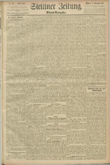 Stettiner Zeitung. 1889, Nr. 330 (16 September) - Abend-Ausgabe