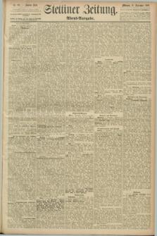 Stettiner Zeitung. 1889, Nr. 332 (18 September) - Abend-Ausgabe