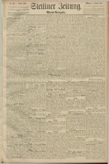 Stettiner Zeitung. 1889, Nr. 346 (2 Oktober) - Abend-Ausgabe