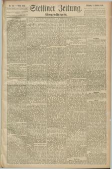 Stettiner Zeitung. 1889, Nr. 346 (2 Oktober) - Morgen-Ausgabe